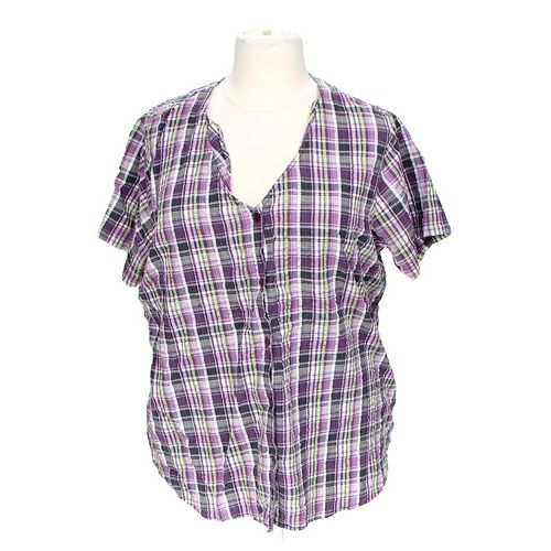 Woman Within Button-up Shirt in size XXL at up to 95% Off - Swap.com