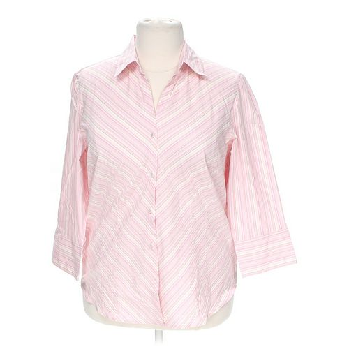 Worthington Button-up Shirt in size 1X at up to 95% Off - Swap.com