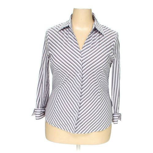 Worthington Button-up Shirt in size 18 at up to 95% Off - Swap.com