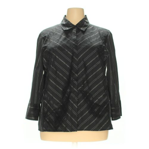 Worthington Button-up Shirt in size 2X at up to 95% Off - Swap.com