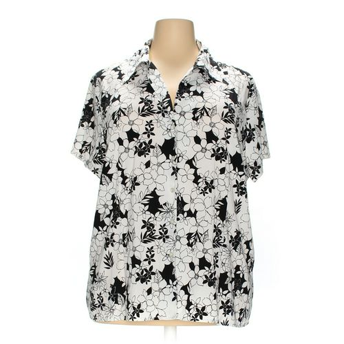 Worthington Button-up Shirt in size 3X at up to 95% Off - Swap.com