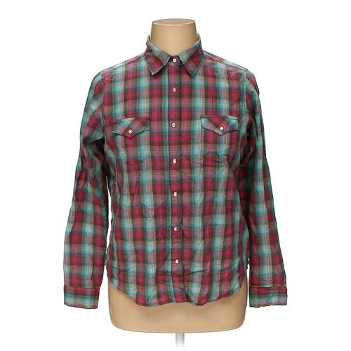 Wrangler Button-up Shirt in size XL at up to 95% Off - Swap.com