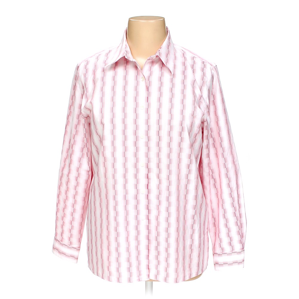 46fa0ca0027 Wrinkle Free Button-up Shirt in size 16 at up to 95% Off -
