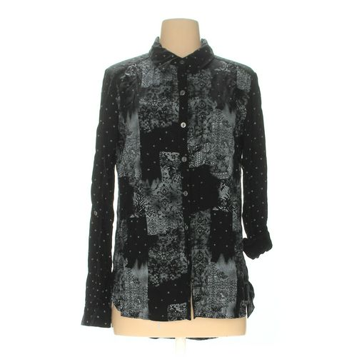 Xhilaration Button-up Shirt in size M at up to 95% Off - Swap.com