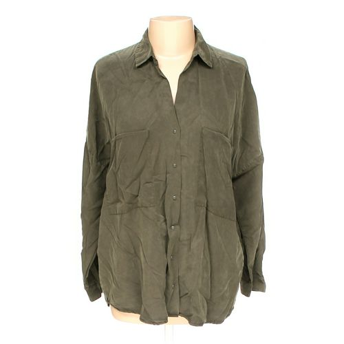 ZARA Button-up Shirt in size L at up to 95% Off - Swap.com