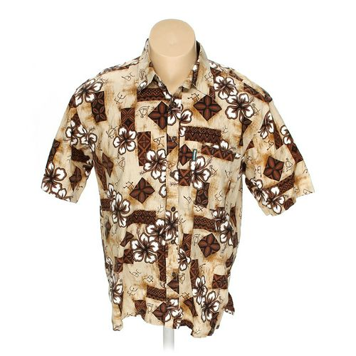 "Amarsee Button-up Short Sleeve Shirt in size 42"" Chest at up to 95% Off - Swap.com"