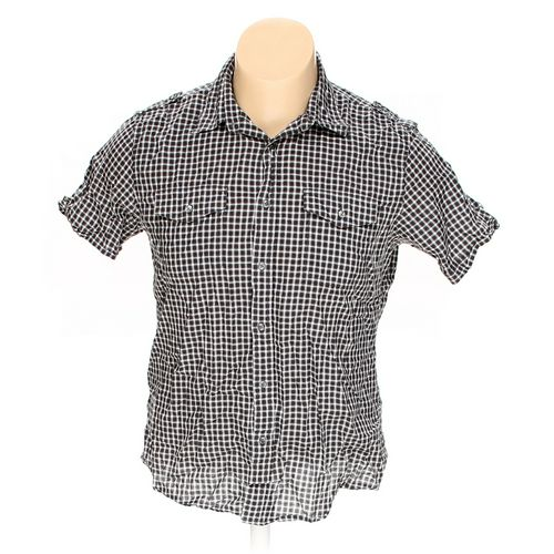 Apt. 9 Button-up Short Sleeve Shirt in size L at up to 95% Off - Swap.com
