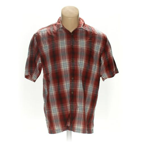Arrow Button-up Short Sleeve Shirt in size L at up to 95% Off - Swap.com