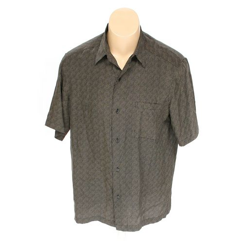 Axcess Button-up Short Sleeve Shirt in size L at up to 95% Off - Swap.com