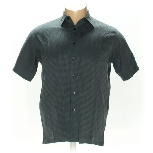 A[X]IST Button-up Short Sleeve Shirt in size L at up to 95% Off - Swap.com