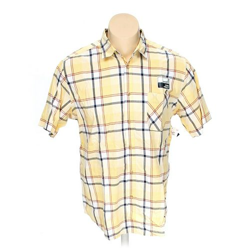 Basic Editions Button-up Short Sleeve Shirt in size XL at up to 95% Off - Swap.com