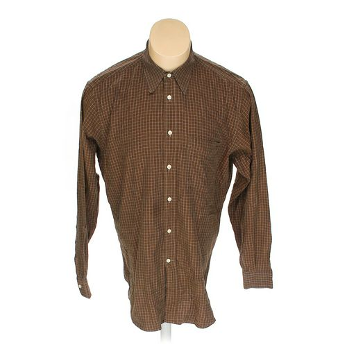 "Biella G. Vasta Collezioni Button-up Short Sleeve Shirt in size 42"" Chest at up to 95% Off - Swap.com"