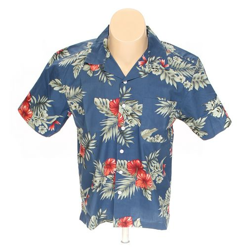 Blue Generation Button-up Short Sleeve Shirt in size S at up to 95% Off - Swap.com