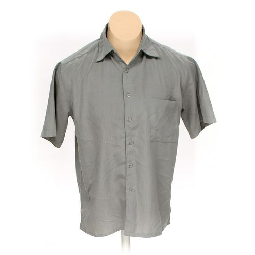 Bruno Menswear Button-up Short Sleeve Shirt in size L at up to 95% Off - Swap.com