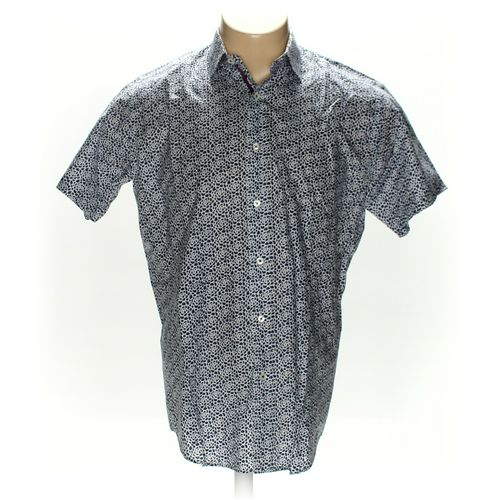 Bugatchi Button-up Short Sleeve Shirt in size M at up to 95% Off - Swap.com