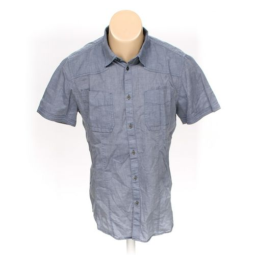 Calvin Klein Button-up Short Sleeve Shirt in size M at up to 95% Off - Swap.com
