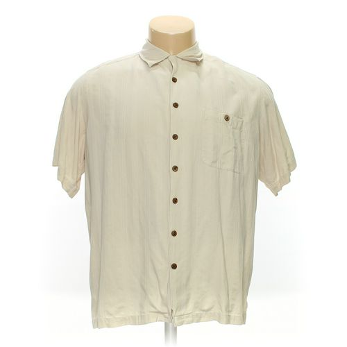 5cba88b3e71a Caribbean Joe Button-up Short Sleeve Shirt in size 2XL at up to 95%