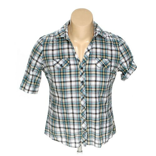 Cato Button-up Short Sleeve Shirt in size XL at up to 95% Off - Swap.com