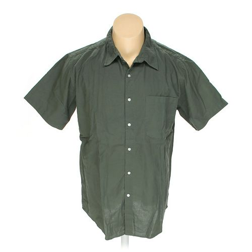 Cherokee Button-up Short Sleeve Shirt in size XL at up to 95% Off - Swap.com
