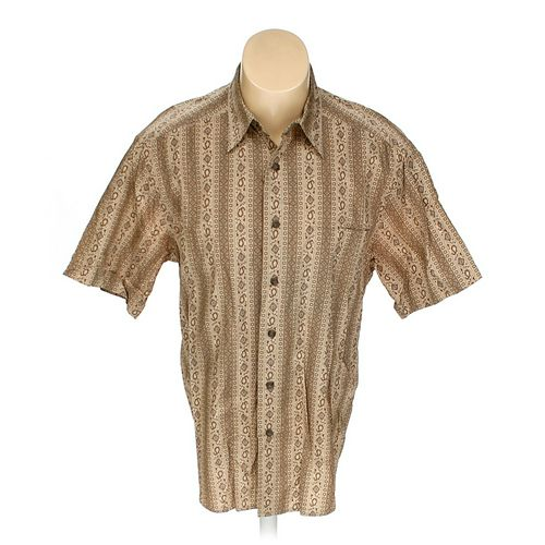 Claiborne Button-up Short Sleeve Shirt in size L at up to 95% Off - Swap.com