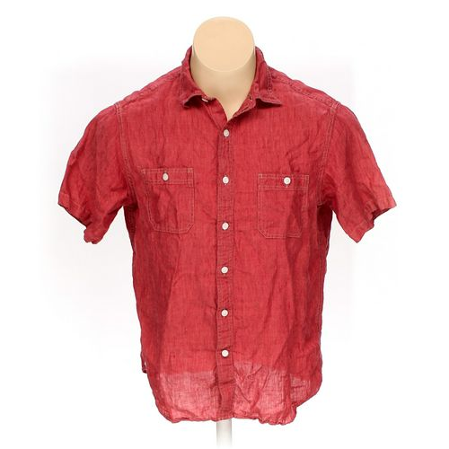 Cremieux Button-up Short Sleeve Shirt in size L at up to 95% Off - Swap.com