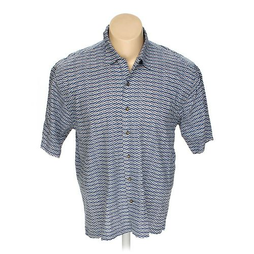 Cutter & Buck Button-up Short Sleeve Shirt in size XL at up to 95% Off - Swap.com