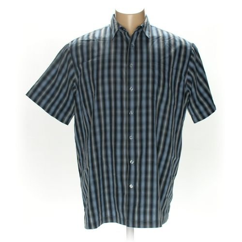 David Taylor Button-up Short Sleeve Shirt in size 2XL at up to 95% Off - Swap.com