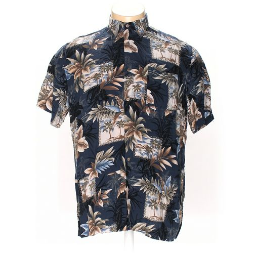 David Taylor Button-up Short Sleeve Shirt in size XL at up to 95% Off - Swap.com