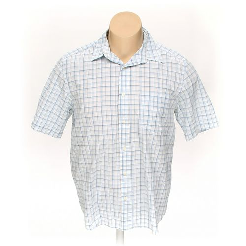 Eddie Bauer Button-up Short Sleeve Shirt in size L at up to 95% Off - Swap.com