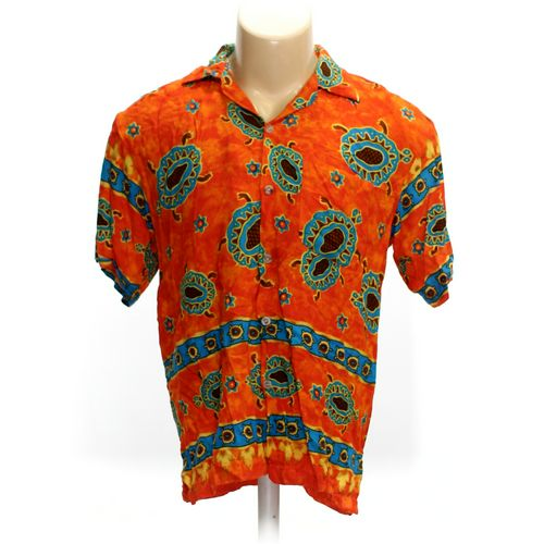 EXPO Button-up Short Sleeve Shirt in size M at up to 95% Off - Swap.com