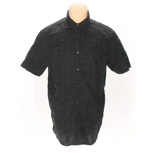 Express Button-up Short Sleeve Shirt in size L at up to 95% Off - Swap.com