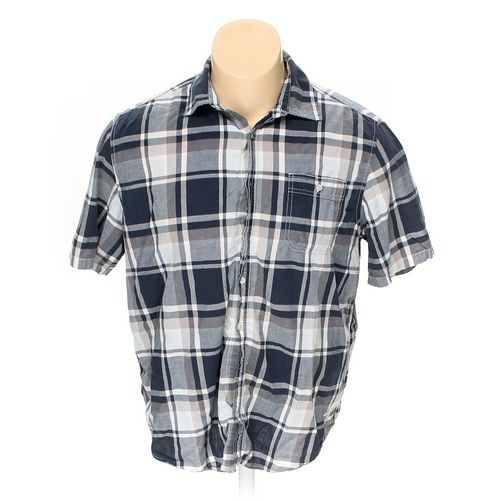 Faded Glory Button-up Short Sleeve Shirt in size 2XL at up to 95% Off - Swap.com