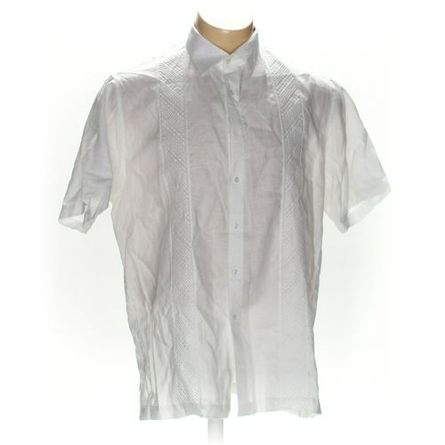 f.nebuloni Button-up Short Sleeve Shirt in size XL at up to 95% Off - Swap.com