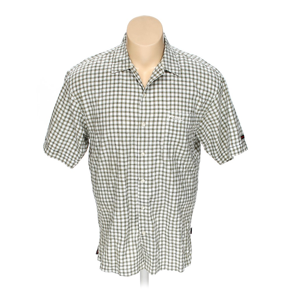 13964d72 FUBU Button-up Short Sleeve Shirt in size XXL at up to 95% Off