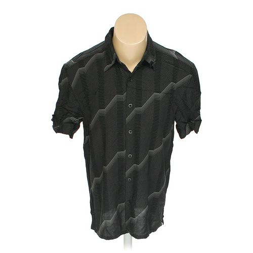 Fusione Button-up Short Sleeve Shirt in size M at up to 95% Off - Swap.com