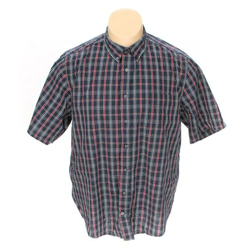 GEORGE Button-up Short Sleeve Shirt in size 2XL at up to 95% Off - Swap.com