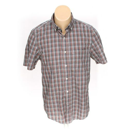 """GEORGE Button-up Short Sleeve Shirt in size 34"""" Chest at up to 95% Off - Swap.com"""