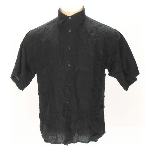 GEORGE Button-up Short Sleeve Shirt in size L at up to 95% Off - Swap.com