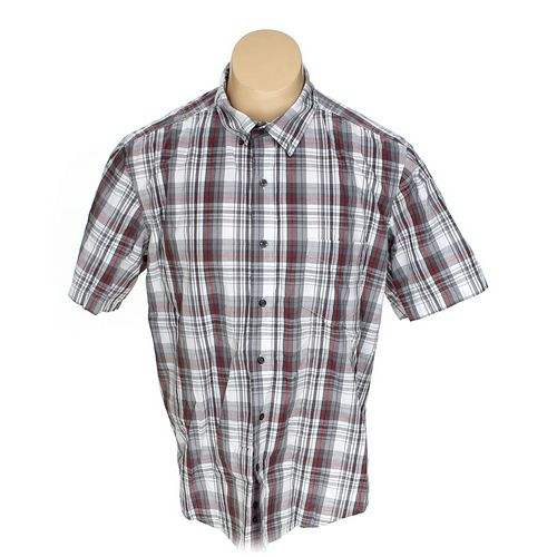 GEORGE Button-up Short Sleeve Shirt in size XL at up to 95% Off - Swap.com