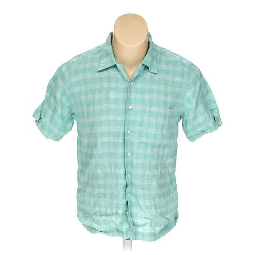 Grant Thomas Button-up Short Sleeve Shirt in size M at up to 95% Off - Swap.com