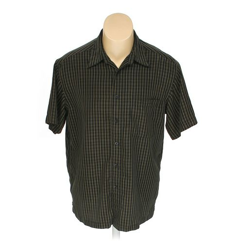 Haggar Button-up Short Sleeve Shirt in size L at up to 95% Off - Swap.com