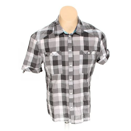 H&M Button-up Short Sleeve Shirt in size L at up to 95% Off - Swap.com