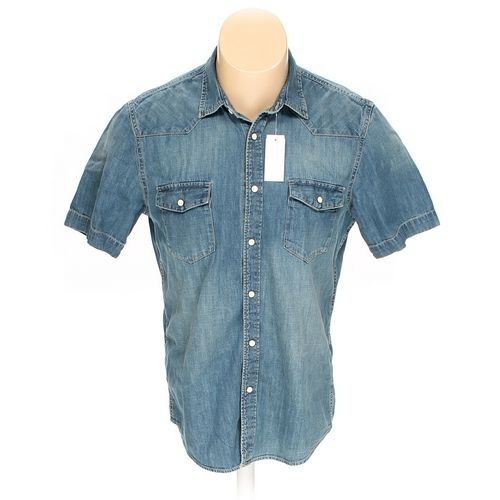 H&M Button-up Short Sleeve Shirt in size M at up to 95% Off - Swap.com