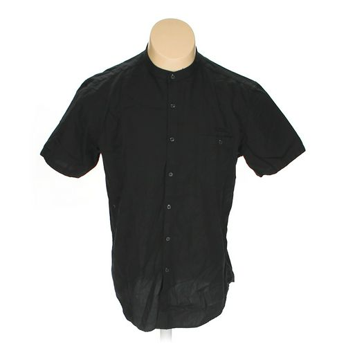 I⋅N⋅C International Concepts Button-up Short Sleeve Shirt in size L at up to 95% Off - Swap.com