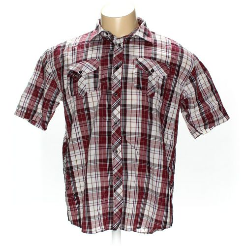 IRREVERENT Button-up Short Sleeve Shirt in size XXL at up to 95% Off - Swap.com