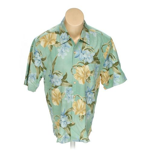 Jamaica Jaxx Button-up Short Sleeve Shirt in size M at up to 95% Off - Swap.com