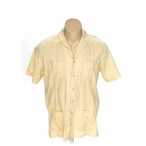 KINGSIZE Button-up Short Sleeve Shirt in size XL at up to 95% Off - Swap.com