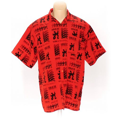 Koman Button-up Short Sleeve Shirt in size L at up to 95% Off - Swap.com