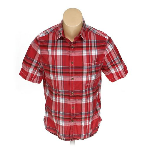 Mossimo Button-up Short Sleeve Shirt in size L at up to 95% Off - Swap.com