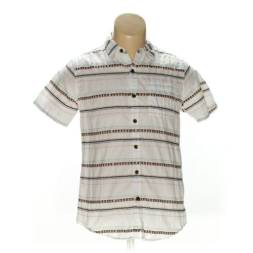 ON THE BYAS Button-up Short Sleeve Shirt in size S at up to 95% Off - Swap.com
